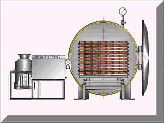 В деревообрабатывающей промышленности наиболее широко применяют конвективные сушильные камеры (сушилки) различных.