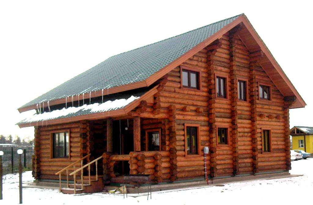 Деревянные дома в России