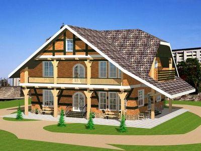 Еще один вариант быстрой постройки жилья