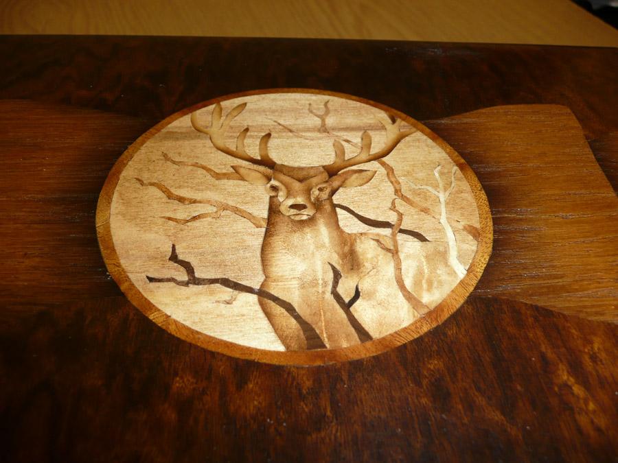 Техника маркетри: деревянная мозаика