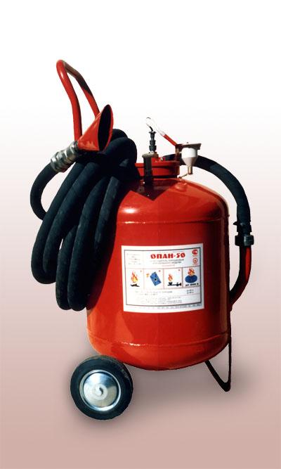 тушения пожаров химическими средствами: УП-400