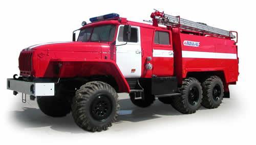 Пожарные машины и оборудование основного назначения