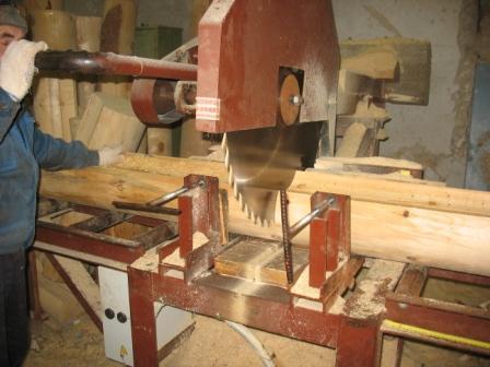 Процесс лесопиления: подготовительный этап