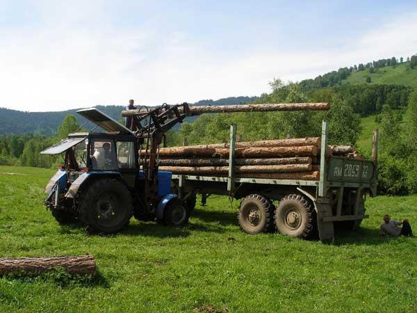 Обеспечение пожарной безопасности при транспорте леса