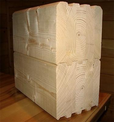 Виды деревянного бруса для строительства домов